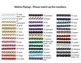 Mattes Bonnet Navy Custom made _