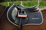 Saddle Pad Winderen Antracite - Rose Gold_