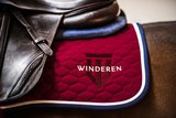 Saddle Pad Winderen Ruby - White_