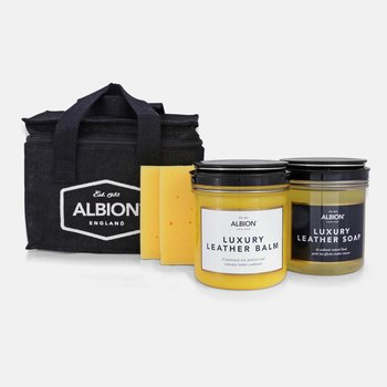 Albion leather care kit (5-part)