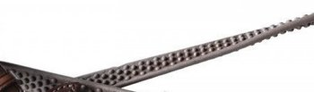 Döbert Snaffle rein extra supple rubber biogrip 13mm