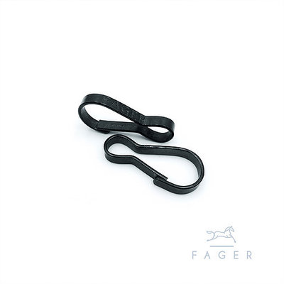 Fager Security Clasp BLACK