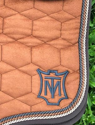 Velvet Square Dressage pad without wool Mattes