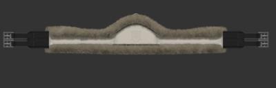 Asymmetrical SLIM LINE jumper girth COMPLETE