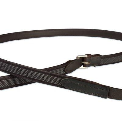 Leather reins NT Rubber grip Stübben