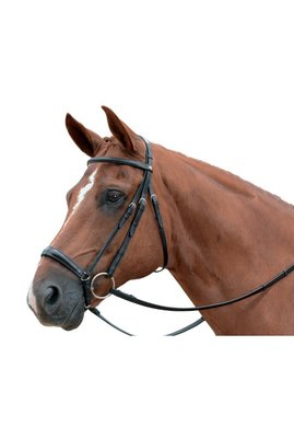 Eventer Snaffle Bridle Albion with drop