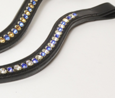 Browband Blue/White B2F