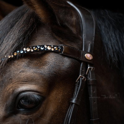 Bling Swing Golden Valoo : Magic Tack Wave-browband without loop