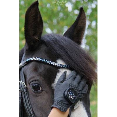 Brightly Blue : Magic Tack Wave-Browband Insert