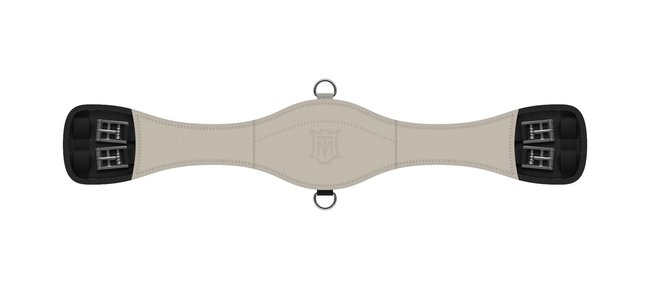 Anatomical SLIM LINE dressage girth WITHOUT COVER