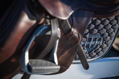 Saddle Pad Winderen Antracite - Silver