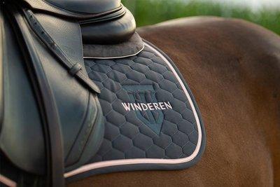 Saddle Pad Winderen Antracite - Rose Gold