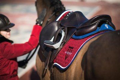 Saddle Pad Winderen Ruby - White